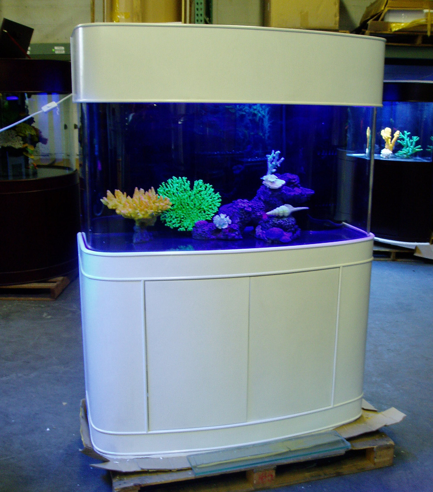 Ov bow front for 70 gallon fish tank