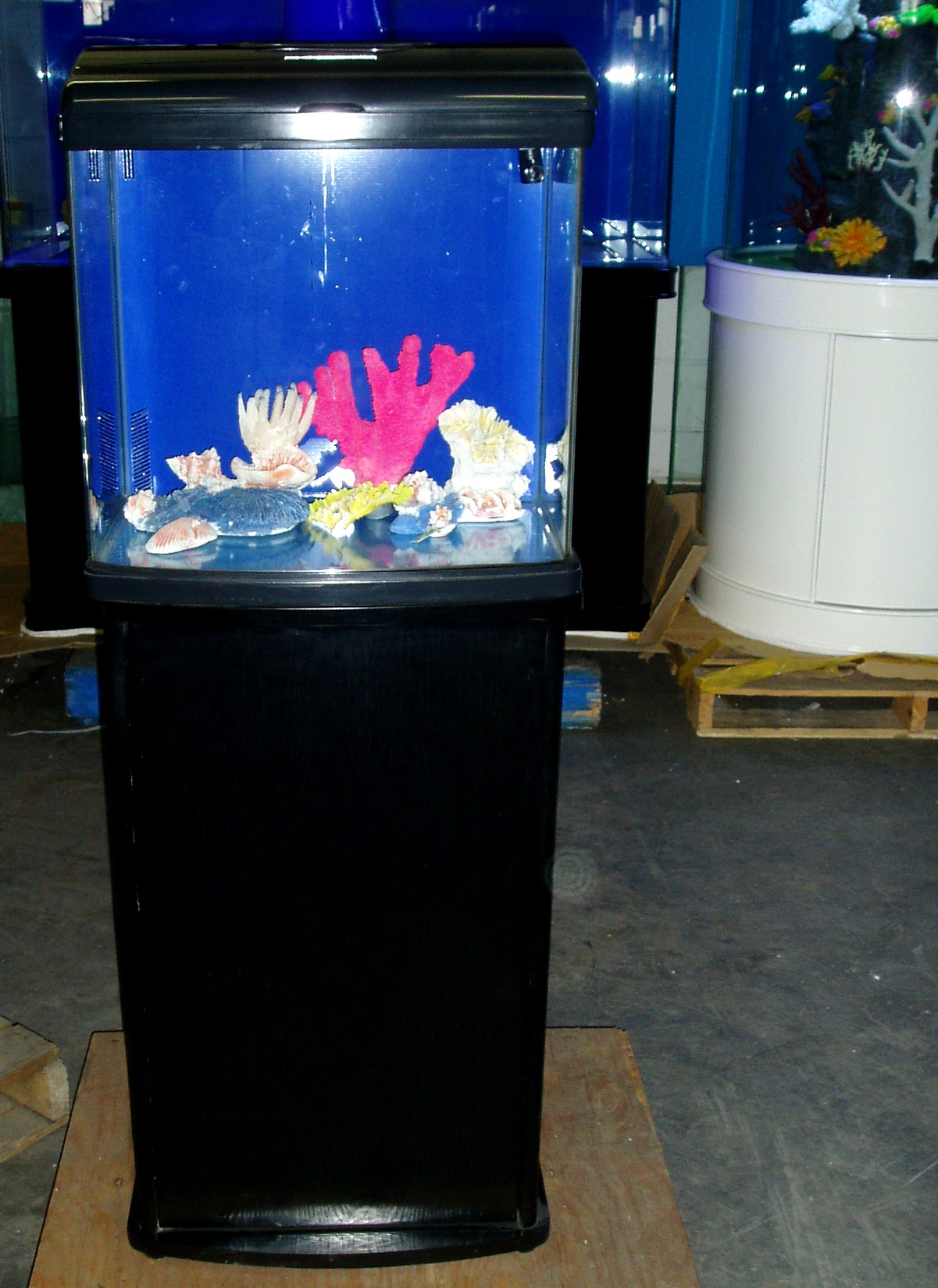 Gv cube for Fish tank and stand combo