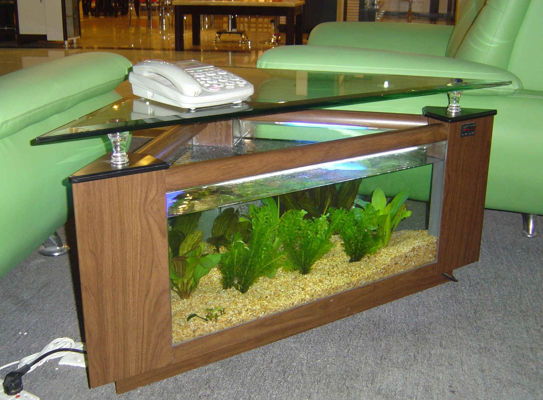coffee table aquariums New York